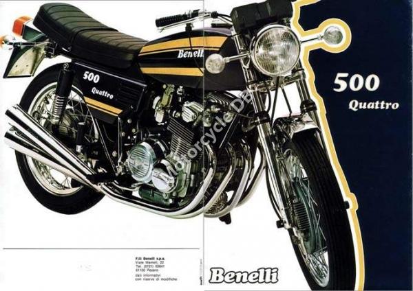 pour les copains motobi-benelli anciennes: moteur benelli type inconnu  Benelli500Quattro-1126
