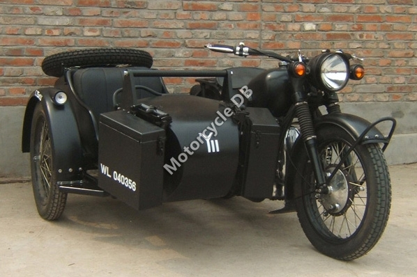 1988 Chang-Jiang 750 J-1 (with sidecar)