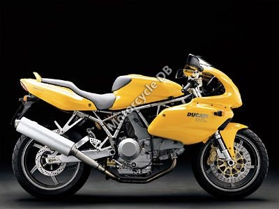 2003 Ducati Supersport 1000 DS Half-fairing