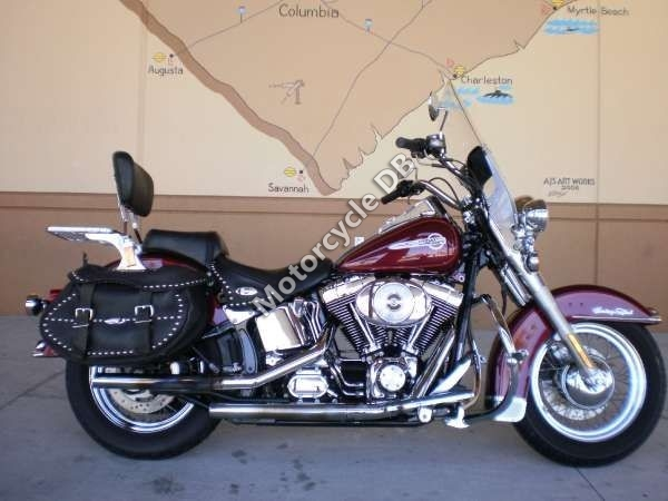 Harley-Davidson FLSTC Heritage Softail Classic - 2002 Specifications ...