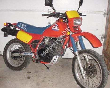 1989 Honda XL 600 V Transalp (reduced effect)