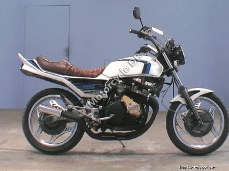 1984 Honda XLV 750 R (reduced effect)