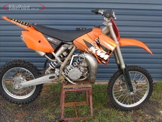 ktm 85 sx (19/16) pictures, specifications, videos and reviews (2005)