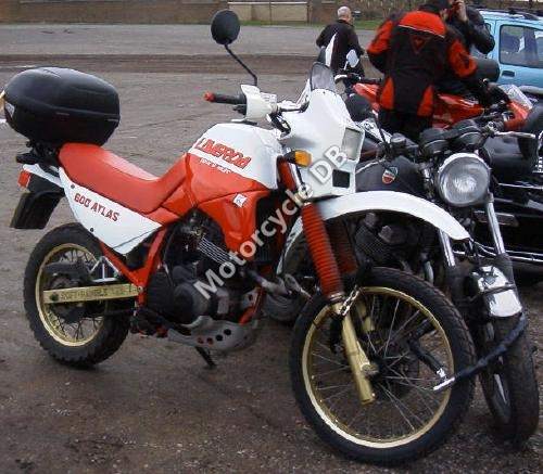 1988 Laverda OR 600 Atlas
