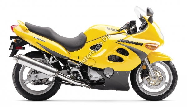 Suzuki GSX 600 F Katana pictures, specifications, videos and reviews ...