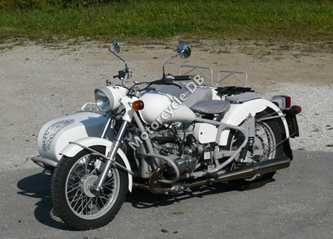2011 Ural Snow Leopard Limited Edition
