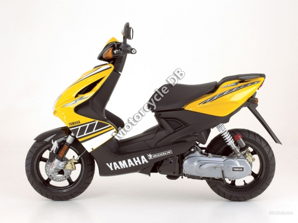 Yamaha Aerox Specifications Model Year Category