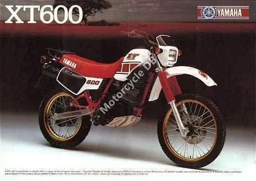 Yamaha XT 600 1985 4023