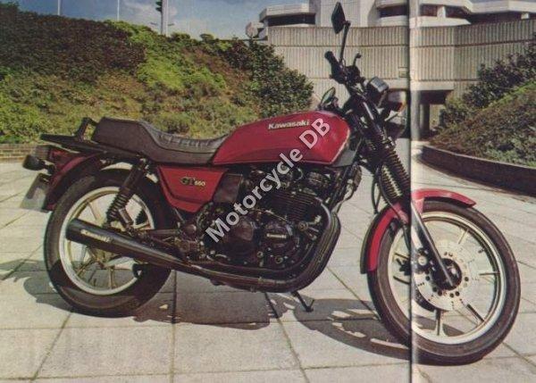 Kawasaki Z 550 GT 1983 11364