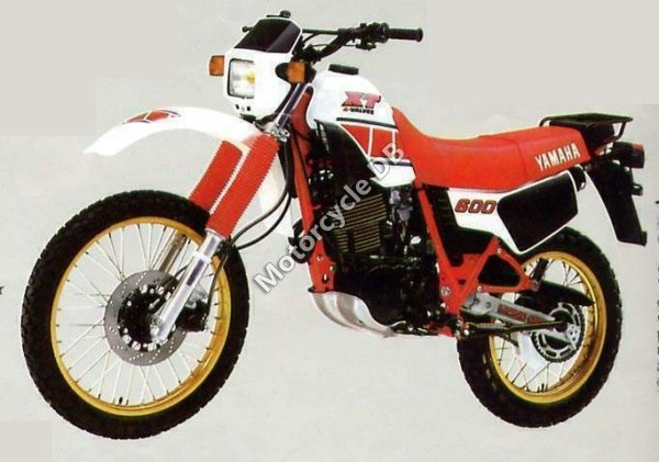 Yamaha XT 600 (reduced effect) 1984 20823