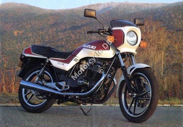 Suzuki GS 500 E (reduced effect) 1989 17798