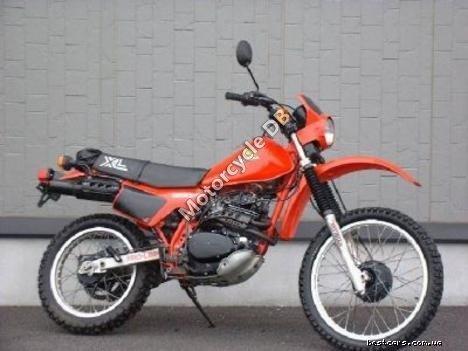 Honda XL 250 R (reduced effect) 1986 12471