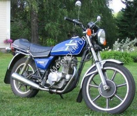 Kawasaki Z 250 C 1983 8819
