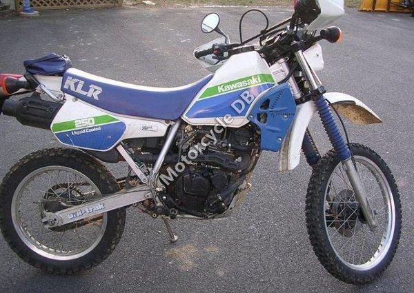 Kawasaki KLR 250 1986 12072