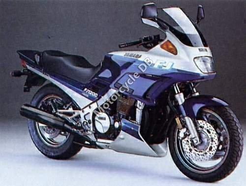 Yamaha FJ 1200 1993 1540