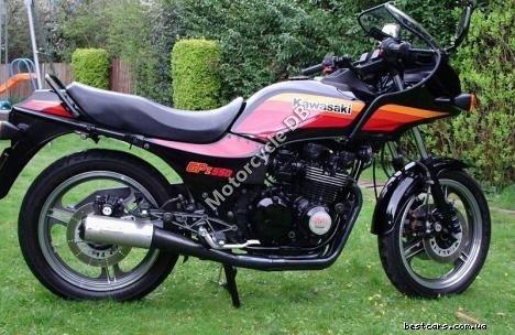 Kawasaki GPZ 550 (reduced effect) 1985 12030