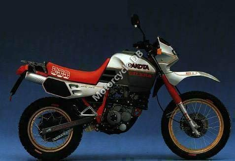 Gilera 500 Dakota 1988 21049 Thumb