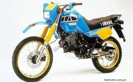 Yamaha XT 550 (reduced effect) 1982 8624
