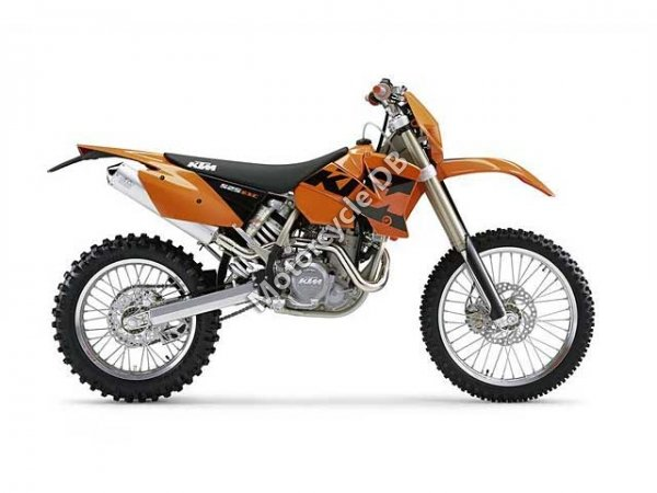 KTM 525 MXC USA 2004 8581