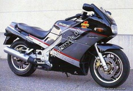 Suzuki GSX 600 F (reduced effect) 1991 18443