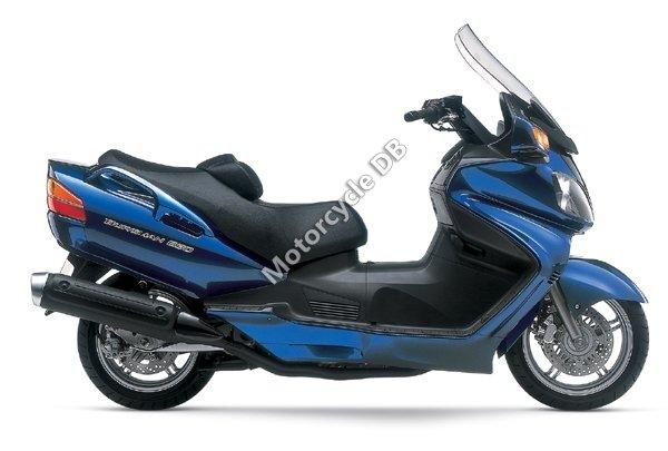Suzuki Burgman 650 2004 13334