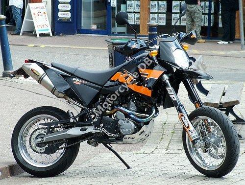 KTM 640 LC4 Enduro 2007 13526