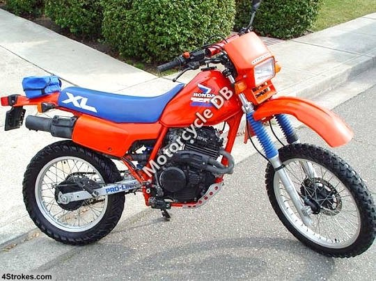 Honda XL 350 R (reduced effect) 1987 8520