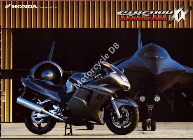 Honda CBR 1100 XX Super Blackbird 1998 30108