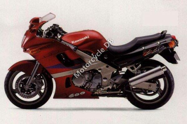 Kawasaki ZZ-R 600 1992 4050