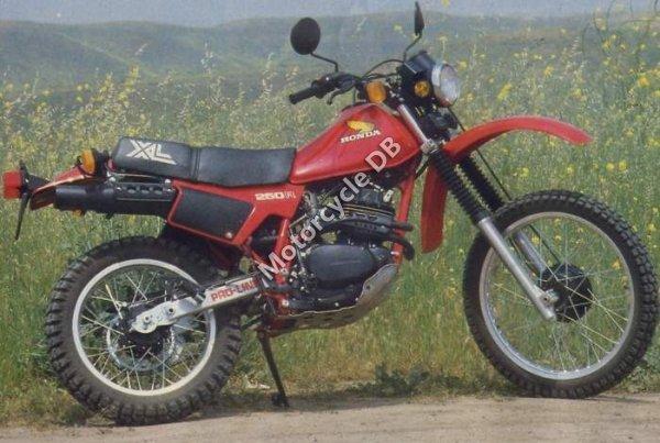 Honda XL 250 S 1982 9828