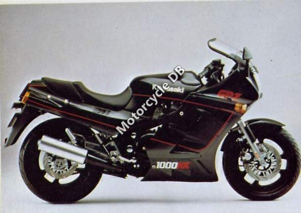 Kawasaki GPZ 1000 RX (reduced effect) 1986 12584