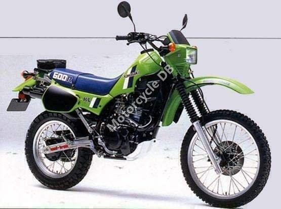 Kawasaki KLR 600 E 1986 8820