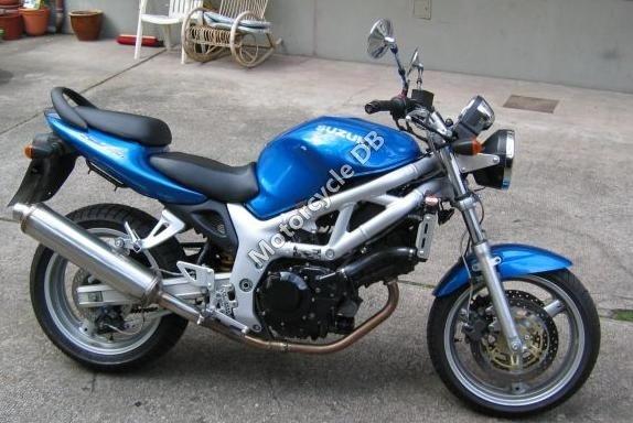 Suzuki SV 650 N/S 1999 9802