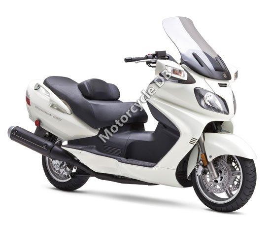 Suzuki Burgman 650 2009 3711