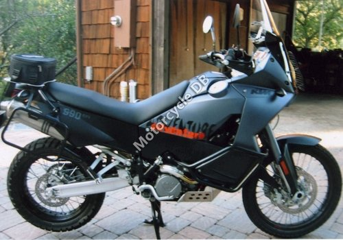 KTM 990 Adventure Black 2006 18618 Thumb