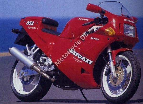 Ducati 851 Strada 1991 1191
