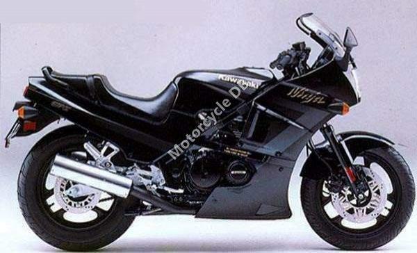 Kawasaki GPZ 400 1983 8821