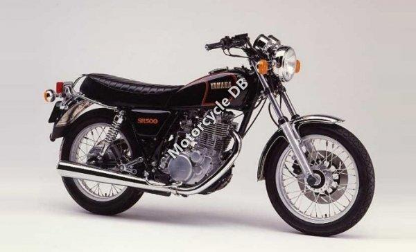 Yamaha SR 500 1986 12022