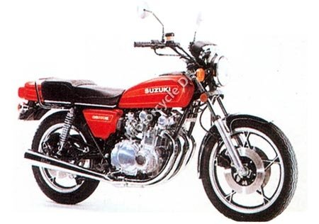 Suzuki GS 550 E Red Suzi 1981 13262