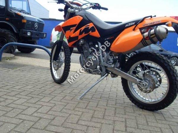 KTM 640 LC4 Supermoto Orange 2006 11976