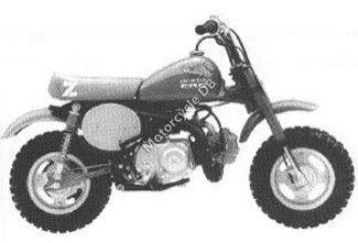 Honda Z50R 1985 6855