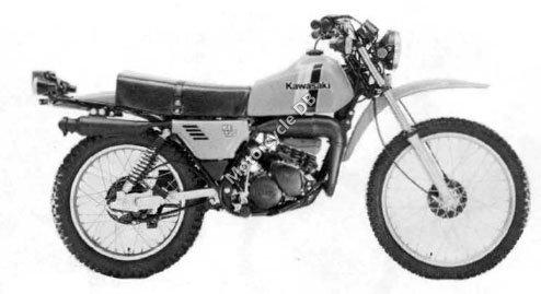 Kawasaki KE 125 1980 7463