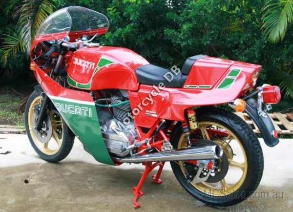 Ducati 900 SS Hailwood-Replica 1982 7392 Thumb