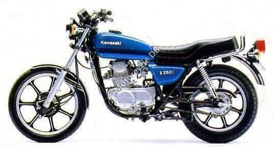 Kawasaki KZ 250 LTD 1980 8343