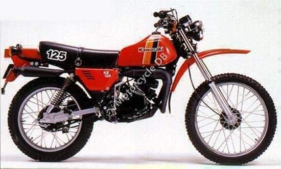 Kawasaki KE 125 1982 1343