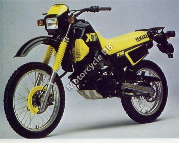 Yamaha XT 350 (reduced effect) 1989 15250 Thumb