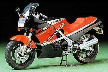 Kawasaki GPZ 400 (reduced effect) 1985 12321