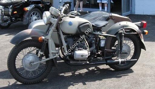 Dnepr MT 16 (with sidecar) 1987 11207