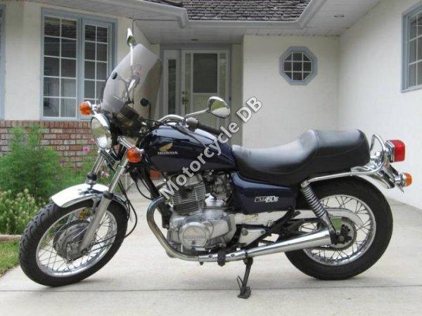 Honda CM 450 E 1982 6839