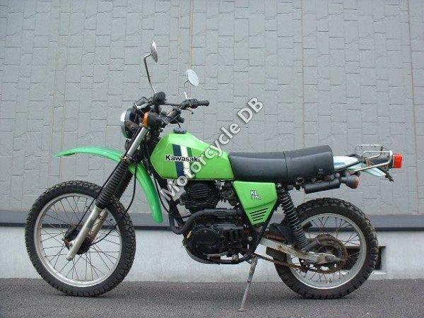 Kawasaki KL 250 1984 14662